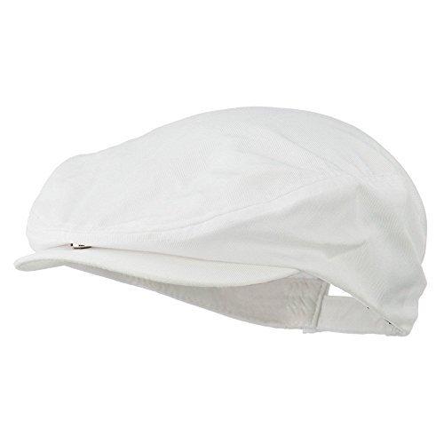 Cotton Twill Ivy Cap - White OSFM ()