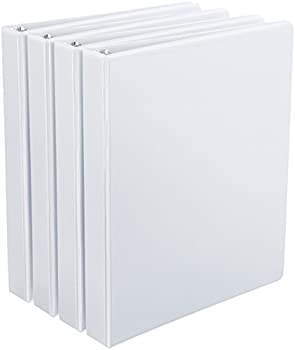 Amazonbasics D-ring Binders - 1-inch, 4-pack 0