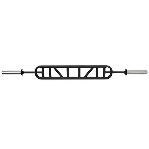 Valor Fitness Multi Grip Olympic Bar, black, 73'' L X7 W X2 H by Valor Fitness