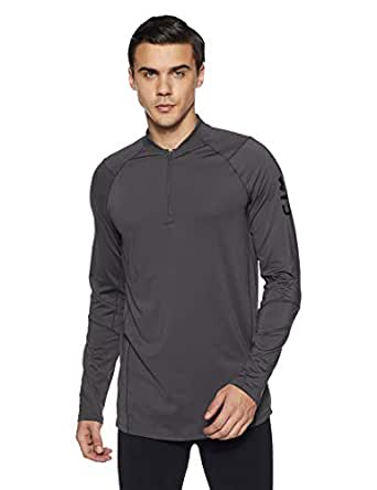 : Under Armour MK1 Quarter Zip Graphic For Men Gray - L