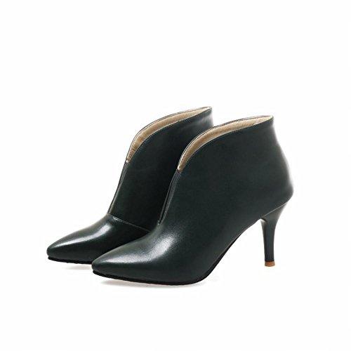 Donna Boots Elegante MissSaSa Verde Scuro Stivaletti Scarpe PdRywqE