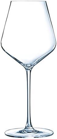 ECLAT N4310 - Juego de 6 copas universales (47 litros), transparente