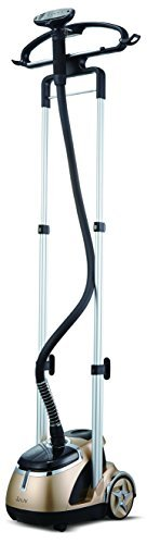 SALAV Limited Edition Professional Series Dual Bar Garment Steamer with Foot Pedals, GS49-DJ Gold