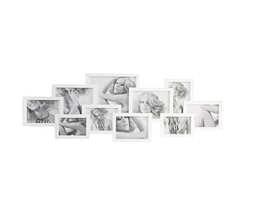 Painel Fotos Etna Branco 5X36cm