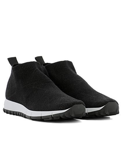 Tissu Jimmy Skate Chaussures Noir NORWAYKILBLACK Femme De Choo 4IrqIRg8