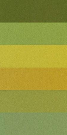 Sue Spargo 1/64 Cuts of Merino Wool Fabric, Pack of Six Different Colors - Greens