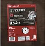 Everbilt HLD1620H Heavy Duty Tarp, Silver-Brown, 16' X 20', 5.79'' x 19.62'' x 14.08''