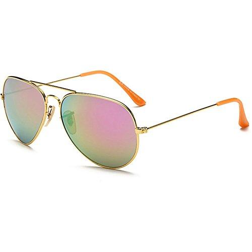 KaiSasi Male Fashion Sunglasses Retro Ms Color Film Yurt Sunglasses Aviator - Sunglasses Costa Pro Bass