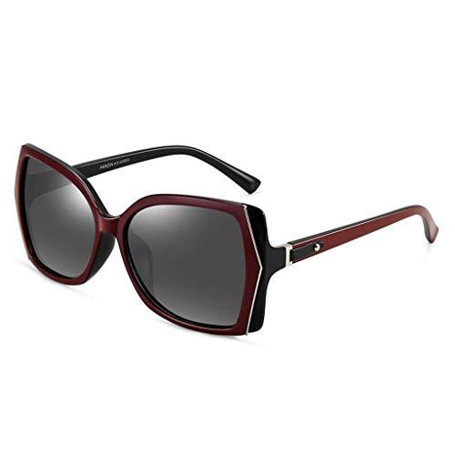Box de de Rond Conduite Couleur Lunettes Femme Fashion Miroir polarisées Des soleil D de lunettes Nouvelles Sport Soleil E Big a6WRgq7w