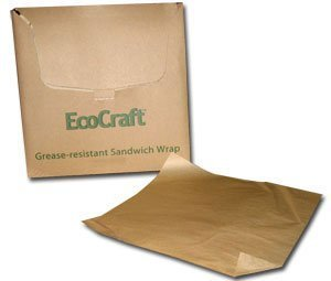 Bagcraft Papercon EcoCraft Grease-Resistant Paper Wrap & Liner BGC 300898 by Packaging Dynamics