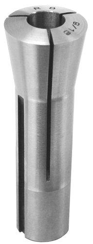 Lyndex 800-064 R8 Collet, 1'' Opening Size, 4.089'' Length, 1.25'' Top Diameter, 0.950'' Bottom Diameter