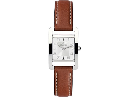 Lady's Watch - Michel Herbelin - Leather Band - W.R 5ATM - 17437/12GO