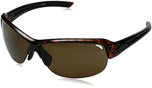 Tifosi Core Polarized Sunglasses - Tifosi Golf Mira Polarized Wrap Sunglasses, Tortoise, 142 mm