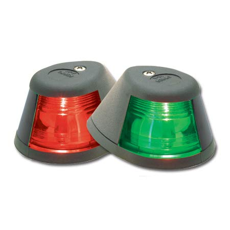 Perko Sidelights Pair 12V - Bulbs Navigation Perko Light