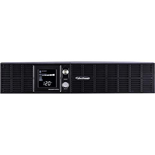 (CyberPower OR2200PFCRT2U PFC Sinewave UPS System, 2000VA/1540W, 8 Outlets, AVR, 2U Rack/Tower)