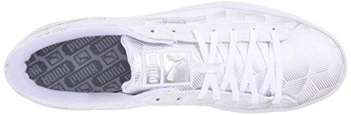 Cesto Da Uomo Puma Classic Metal Fashion Sneaker Bianco
