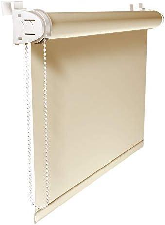 Victoria M. Tenda a Rullo Oscurante Klemmfix, Montabile Senza Fori, 45 x 150 cm, Crema