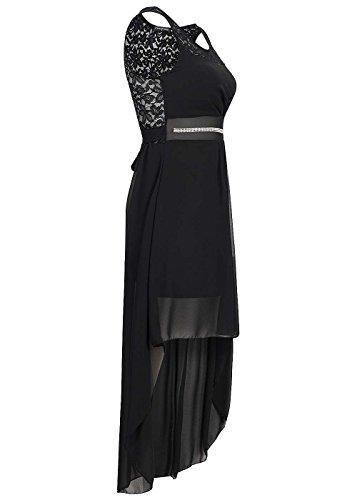 violet Fashion - Vestido - para mujer negro