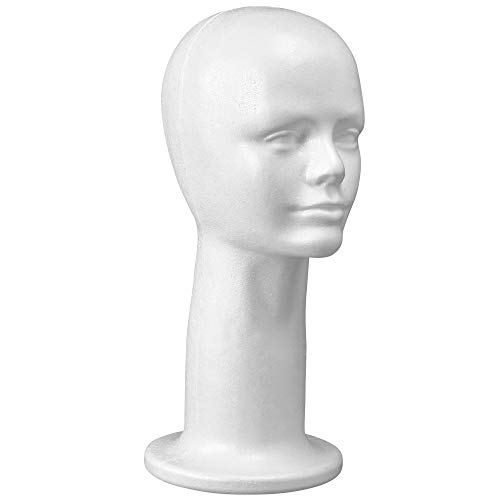 15 Styrofoam Wig Head Hairpieces product image