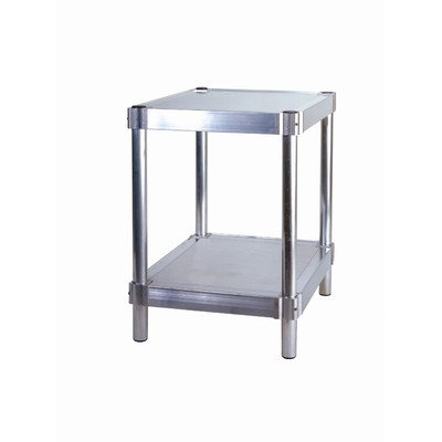 PVIFS N183024-2 Equipment Stand with 2 Adjustable Solid Shelves, 400 lbs Shelf Capacity, 24'' Length x 18'' Width x 30'' Height