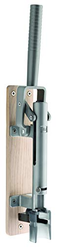 BOJ Professional Wall-Mounted Corkscrew with Wood Backing Wine Opener Model 110 US (Natural Color)