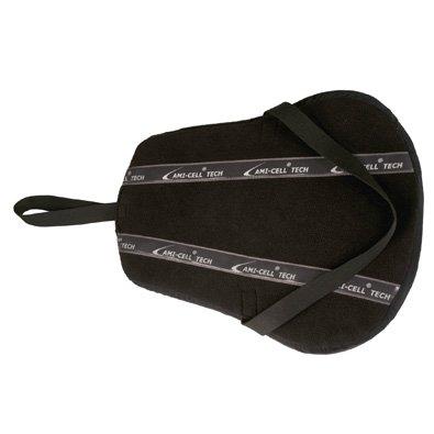 Anti Slip Saddle Cushion Seat Black