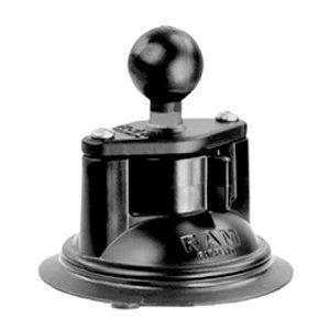 RAM Mounts RAM 3.3in. Diameter Suction Cup Twist Lock Base with 1in. Ball RAM-B-224-1U by RAM MOUNTS