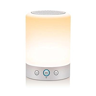 Glimtek Multi-function LED Bedside Lamp, Portable Outdoor Bluetooth/MicroSD/TF Card Speaker, FM Radio, Pendant lamp USB Powered from SHENZHEN LIANHUA ELECTRONIC CO., LTD.