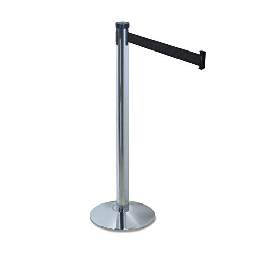 (Tatco Adjusta-Tape Crowd Control Stanchion Posts, Nylon, 40