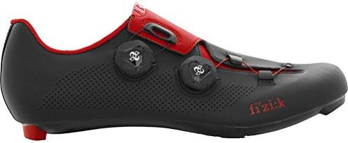 Fizik R3 ARIA Shoes, Black/red, Size 44.5