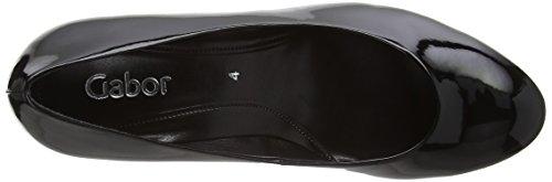 black Tacco Ht Con Patent Gabor Nero Donna 2 Scarpe Vesta wxqxZ7H0p