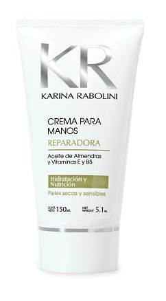 Repair Hands Cream By Karina Rabolini, 5.1oz,150ml