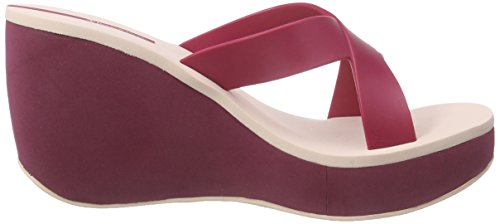 Ipanema Lipstick Straps Ii Fem - Sandalias Mujer Varios Colores - Mehrfarbig (red pink 8444)