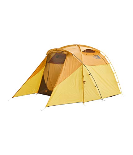 The North Face Wawona 4 Tent Golden Oak/Saffron Yellow Size One Size
