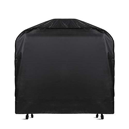 LTTWSF Grill Cover, 58 Inch Heavy-Duty Waterproof BBQ Gas Grill Cover for Weber, Brinkmann, Barbecue, Char-Broil, Holland and Jenn Air