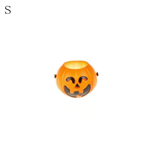 Party Diy Decorations - Halloween Pumpkin Trick Treat Loot Sweet Candy Carry Holder Jar Jug Barrel Party 3 Sizes - Decorations Party Party Decorations Halloween Treat Pumpkin Ceramic Plant Dress ()