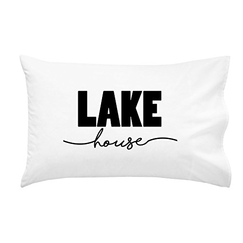 Oh, Susannah LAKE House Pillowcase - Fits Standard Pillow (1 20x30 inch, Black) (Bluebird Cookie Cutter compare prices)