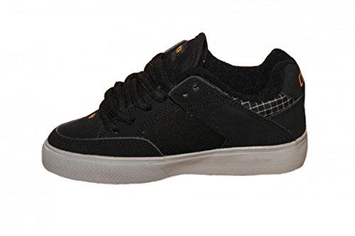 Circa Skateboard Schuhe 205 Vulc Kids Black/Paloma Grey oBzUoJm8T