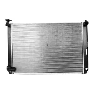 TYC 2929 Toyota Highlander Hybrid 1-Row Plastic Aluminum Replacement Radiator
