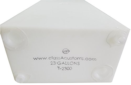 Class A Customs 23 Gallon Fresh/Gray Water Holding Tank rv concession trailer T-2300
