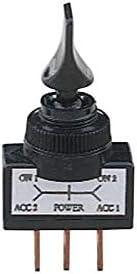 Interrupteur Noir 3 Positions ADNAuto