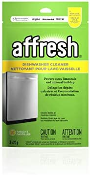Affresh Whirlpool W10288149B Dishwasher Cleaner, 3 Count (Pack of 1)