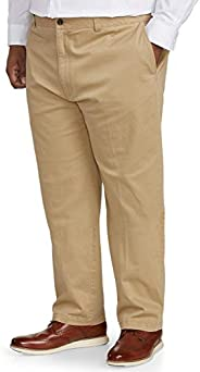 Amazon Essentials Men's Big & Tall Relaxed-fit Casual Stretch Khaki Pant fit by DXL fi