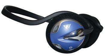 Kopfhörer, hinter dem Kopf Stil von DSS