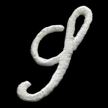 アルファベット 花文字ワッペン【S】の商品画像