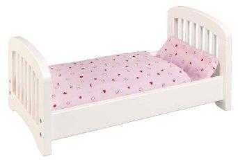 Goki Lit pour poupée avec Parure de lit en kit complet