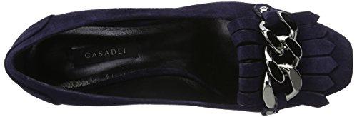 Casadei Damen 1d072e020 Slipper Blau (blu Notte 121)