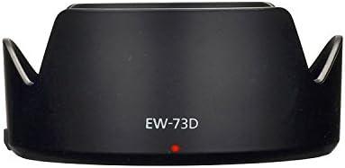 Maxsimafoto EW-73D. Parasol compatible con objetivo Canon EF-S 18 ...