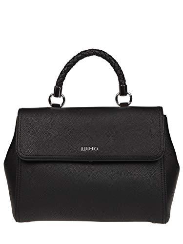 Liu Jo Donna Nero Jeans A68096e0011 Tu Shopper 1OW1TB