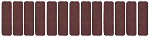 Stair Treads Indoor Skid Slip Resistant Rubber Backing Ca...
